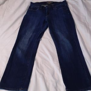 Lucky Brand Jeans Easy Rider Straight Ankle 8/29